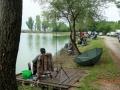 2019  Horgászverseny a Rózsaligeti tónál.  Foto:Csiba Zella György.
