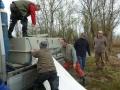 Zarybnenie jar - Haltelepítés tavasz 2014