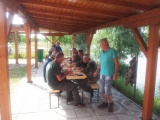 Návšteva rybárov z obce Répcelak v rámci družobného partnerstva v dňoch 29-30.06.2013